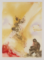 "Salvador Dali LE ""Vol. 2 The Biblia Sacra: Sanctus Raphael et Tobias 1967 Rizzoli Editions Italy"" 14x19 Lithograph at PristineAuction.com"