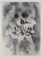 """Salvador Dali LE """"Vol. 2 The Biblia Sacra: Losias Sepultus in Mausoleo Patrum 1967 Rizzoli Editions Italy"""" 14x19 Lithograph"""
