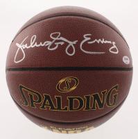 "Julius ""Dr. J"" Erving Signed NBA Basketball (PSA COA)"
