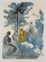 """Salvador Dali LE """"Vol. 2 The Biblia Sacra: Familia Ruth Moabitidis 1967 Rizzoli Editions Italy"""" 14x19 Lithograph at PristineAuction.com"""