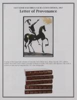 """Salvador Dali LE """"Vol. 2 The Biblia Sacra: Losue Fortis in Bello 1967 Rizzoli Editions Italy"""" 14x19 Lithograph at PristineAuction.com"""