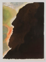 "Salvador Dali LE ""Vol. 2 The Biblia Sacra: Abraham, Pater Multarem Gentium 1967 Rizzoli Editions Italy"" 14x19 Lithograph at PristineAuction.com"