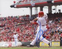 Joey Votto Signed Cincinnati Reds 8x10 Photo (JSA COA)