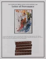 """Salvador Dali LE """"Vol. 2 The Biblia Sacra: Rubus Incombustus 1967 Rizzoli Editions Italy"""" 14x19 Lithograph at PristineAuction.com"""