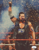 "Kevin Nash Signed WWE 8x10 Photo Inscribed ""Best Always"" (JSA COA)"