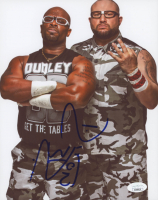 D-Von Dudley Signed WWE 8x10 Photo (JSA COA)