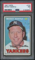1967 Topps #150 Mickey Mantle (PSA 7)