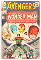 "1964 ""The Avengers"" Issue #9 Marvel Comic Book at PristineAuction.com"