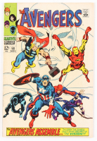 """1968 """"The Avengers"""" Issue #58 Marvel Comic Book"""