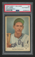 1959 Fleer Ted Williams #6 Ted Turns Pro (PSA Authentic)