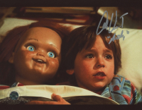 """Alex Vincent Signed """"Child's Play"""" 8x10 Photo Inscribed """"Andy"""" (Legends COA)"""