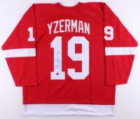 Steve Yzerman Signed Jersey (JSA COA & Yzerman Hologram)
