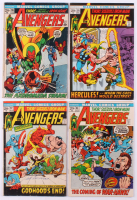 """Lot of (4) 1972 """"The Avengers"""" 1st Series Marvel Comic Books with #96, #97, #98 & #99"""