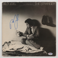"Billy Joel Signed ""The Stranger"" Vinyl Record Album Sleeve (PSA COA) at PristineAuction.com"