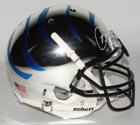 Isaac Bruce Signed Memphis Tigers Full-Size Authentic On-Field Chrome Helmet (Radtke COA) at PristineAuction.com