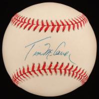 Tim McCarver Signed ONL Baseball (JSA COA) at PristineAuction.com
