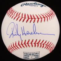 Rickey Henderson Signed Hall of Fame OML Baseball (JSA COA) at PristineAuction.com