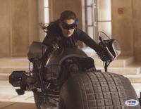 """Anne Hathaway Signed """"The Dark Knight Rises"""" 8x10 Photo (PSA Hologram) at PristineAuction.com"""