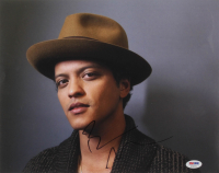 Bruno Mars Signed 11x14 Photo (PSA COA) at PristineAuction.com