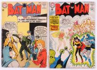 "Lot of (2) 1963 ""Batman"" DC Comic Books with #153 & #157"