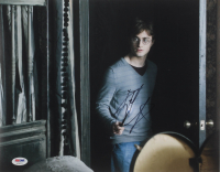 """Daniel Radcliffe Signed """"Harry Potter & the Deathly Hallows: Part 1"""" 11x14 Photo (PSA COA) at PristineAuction.com"""