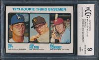 1973 Topps #615 Rookie Third Basemen / Ron Cey / John Hilton RC / Mike Schmidt RC (BCCG 9) at PristineAuction.com