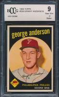 1959 Topps #338 Sparky Anderson RC (BCCG 9) at PristineAuction.com