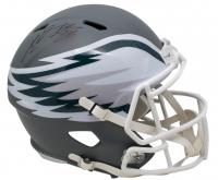 Miles Sanders Signed Philadelphia Eagles Full-Size AMP Speed Helmet (JSA COA)