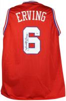"""Julius """"Dr. J"""" Erving Signed Jersey (PSA LOA) at PristineAuction.com"""