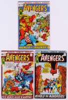 "Lot of (3) 1971-72 ""The Avengers"" 1st Series Marvel Comic Books with #93, #94 & #95 at PristineAuction.com"