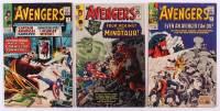 "Lot of (3) 1965 ""The Avengers"" 1st Series Marvel Comic Books with #14, #17 & #18"