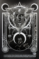 A Perfect Circle 12x18 Poster Band-Signed by (5) with Maynard James Keenan, Billy Howerdel, James Iha, Jeff Friedl & Matt McJunkins (Beckett LOA)