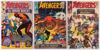 "Lot of (3) 1965-66 ""The Avengers"" 1st Series Marvel Comic Books with #22, #23 & #24"
