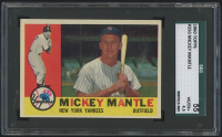 1960 Topps #350 Mickey Mantle (SGC 4.5)