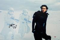 "Adam Driver Signed ""Star Wars: The Force Awakens"" 12x18 Photo (PSA COA)"
