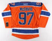 Connor McDavid Signed Edmonton Oilers Captain Jersey (Beckett COA)