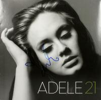 "Adele Signed ""21"" Vinyl Record Album Cover (Beckett LOA) at PristineAuction.com"