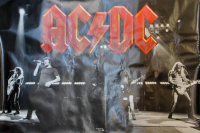 Angus Young & Malcolm Young Signed AC/DC 48x72 Poster (Beckett COA) at PristineAuction.com