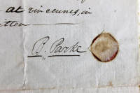 William Henry Harrison & Anna Harrison Signed 13.75x16.5 Authentic 1810 Indenture Document (Beckett COA) at PristineAuction.com
