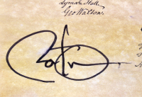 Barack Obama Signed 13.75x15.5 Replica Declaration of Independence (Beckett LOA) at PristineAuction.com