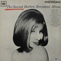 "Barbra Streisand Signed ""The Second Barbra Streisand Album"" Vinyl Record Album Cover (Beckett LOA) at PristineAuction.com"