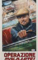 "Leonardo DiCaprio & Quentin Tarantino Signed ""Once Upon a Time in Hollywood"" 11x17 Print (PSA COA) at PristineAuction.com"