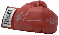 Mike Tyson & Evander Holyfield Signed Everlast Boxing Glove (JSA COA) at PristineAuction.com