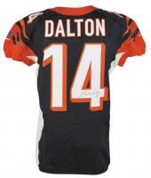 Andy Dalton Signed Game-Used Cincinnati Bengals Jersey (PSA LOA)
