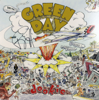 "Billie Joe Armstrong Signed Green Day ""Dookie"" Vinyl Record Album Cover"