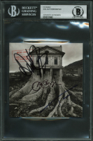 "Jon Bon Jovi, Tico Torres & David Bryan Signed Bon Jovi ""This House Is Not for Sale"" CD Album Cover (BGS Encapsulated)"