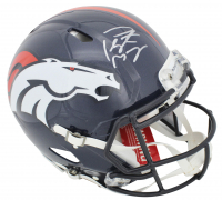 Peyton Manning Signed Denver Broncos Full-Size Authentic On-Field Speed Helmet (Steiner COA & Fanatics Hologram)
