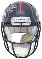 Peyton Manning Signed Denver Broncos Full-Size Authentic On-Field Speed Helmet (Steiner COA & Fanatics Hologram) at PristineAuction.com