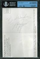 "Michael Jordan Signed 5.25x7.5 Postcard Inscribed ""Best Wishes"" (JSA Encapsulated) at PristineAuction.com"