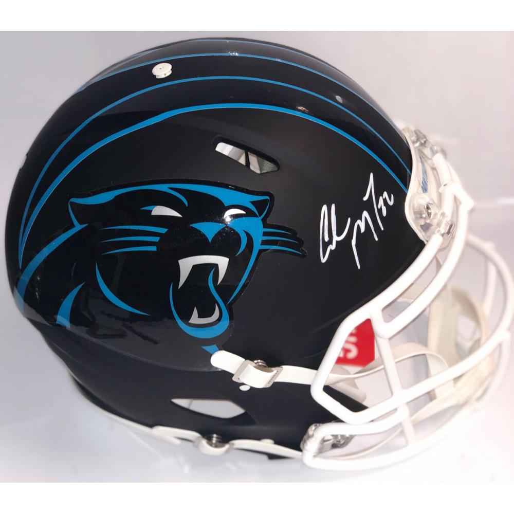 Christian McCaffrey Signed Carolina Panthers Full-Size ...